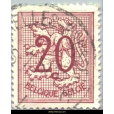 1951 Digit on heraldic lion 20