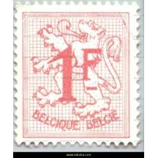 1959  Digit on heraldic lion 1 Fr Big size