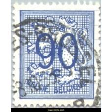 1951 Digit on heraldic lion 90