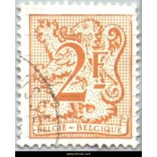 1978  Digit on heraldic lion and streamer 2 Fr