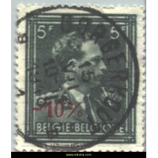 1946  King Leopold III (open collar) 5-10% with 'V'