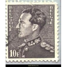 1949  King Leopold III (Poortman)  10  Fr