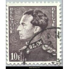 1968  King Leopold III (Poortman) 10 Fr Phosphorescent
