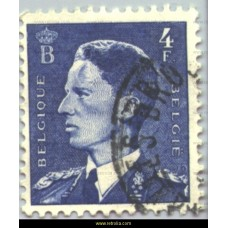 1953 King Baudouin 4 Fr