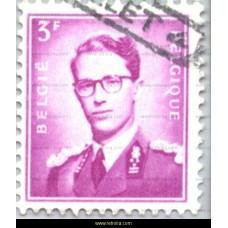 1958  King Baudouin 3 Fr
