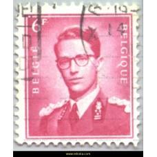 1958  King Baudouin 6 Fr