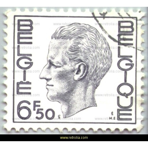 Stamp 1974 King Baudouin (Elstr�m) 6.50