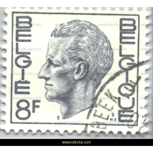 Stamp 1972 King Baudouin (Elstr�m) 8 Fr