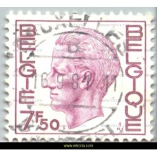 1977 King Baudouin (Elström) 7.50 Phosphorescent