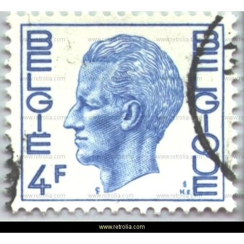 Stamp 1972 King Baudouin (Elstr�m) 4 Fr