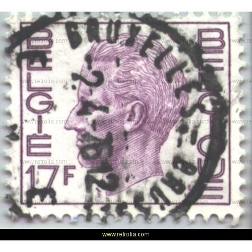 Stamp 1975 King Baudouin (Elstr�m) 17 Fr