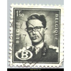 1954 King Baudouin with B in oval 1,50 Fr