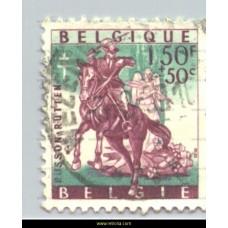 1958 Belgische legenden 1,50+50 c