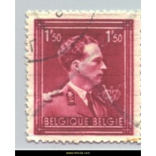 1944 King Leopold III with 'V' 1,50 Fr