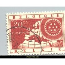 1954 Rotary International 20 Fr