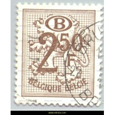 1979 Digit on heraldic lion with B in an oval