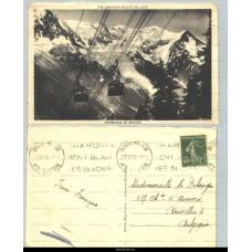 Chamonix Mont-Blanc - Téléferique du Brévent