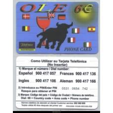 OLE Telefonica 6 €