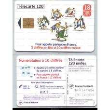Télécarte 120